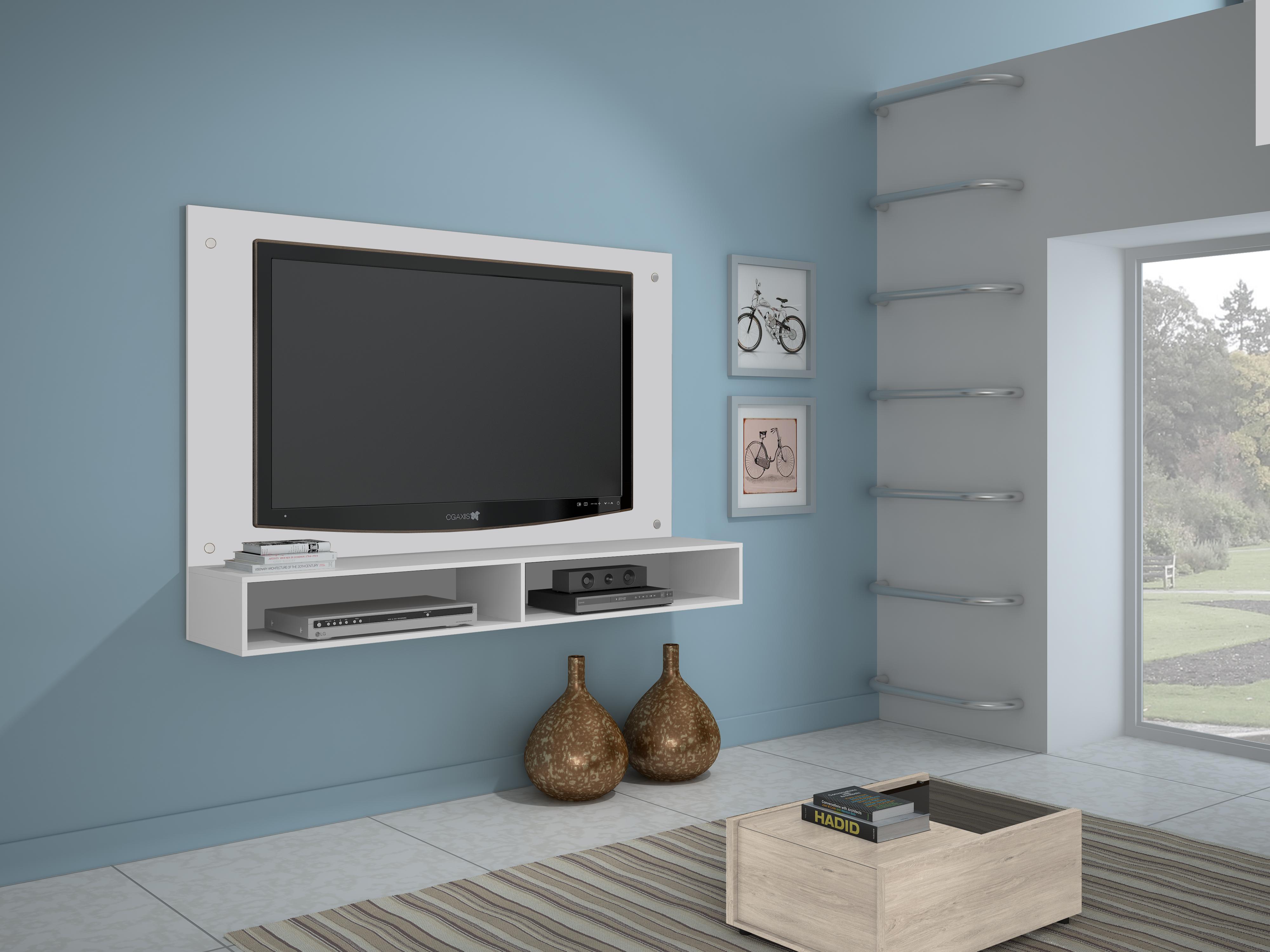 Painel para TV até 47 polegadas - Branco