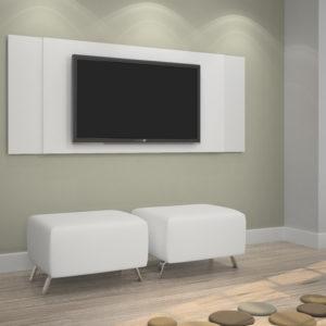 Painel Extensivo 133,5 cm até 154 cm - Branco