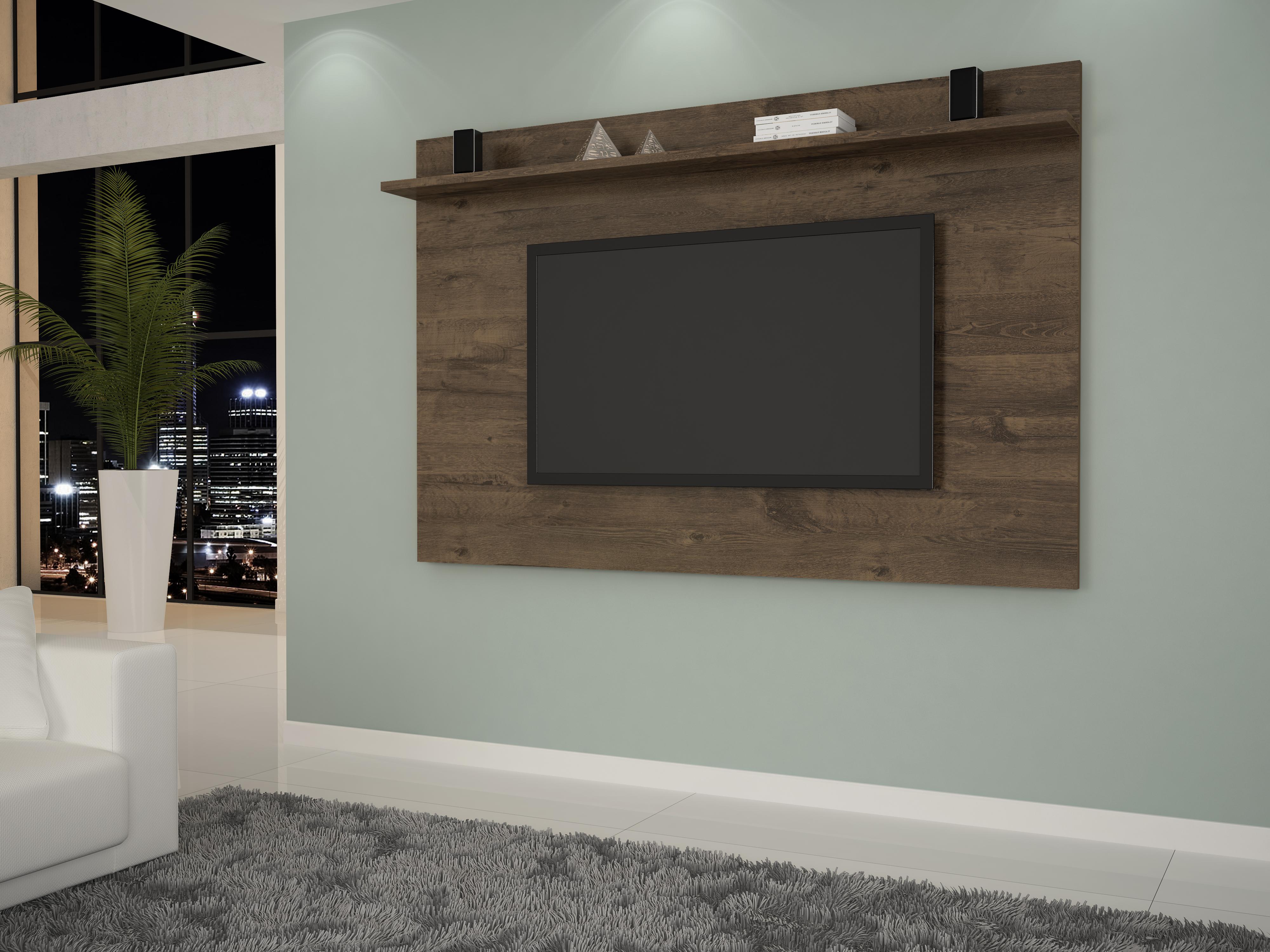 Capri M Veis -> Estantes Para Sala De Tv Lcd