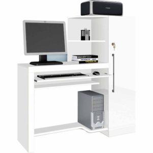 Escrivaninha para Computador - Branco