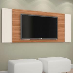Painel TV 42'' Naturale c/ Off White 133cm/154cm