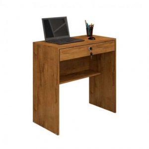 Escrivaninha Mesa Computador Gaveta Chave Nobre
