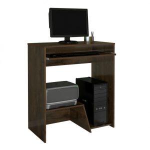 Escrivaninha Mesa Desktop CPU e Impressora Cacau
