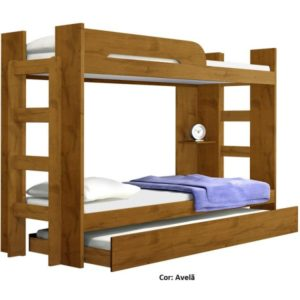 Beliche Valverde com cama auxiliar - Avelã