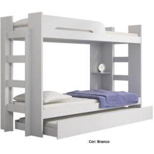 Beliche Valverde com cama auxiliar - Branco