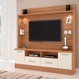 Home TV 56 com luminária LED Naturale c/ Off White 200cm
