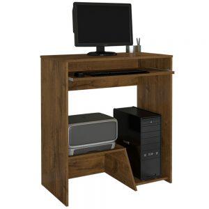 Escrivaninha Mesa Desktop CPU e Impressora Nobre