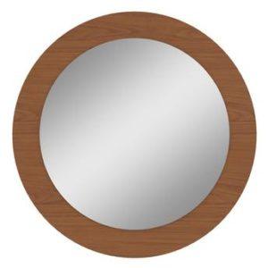 Quadro Redondo Com Espelho Anápolis - Rovere Soft (Fosco)