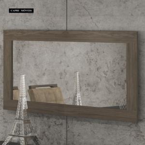 Quadro Retangular Espelho Zurick - Malbec (Decoração não acompanha)