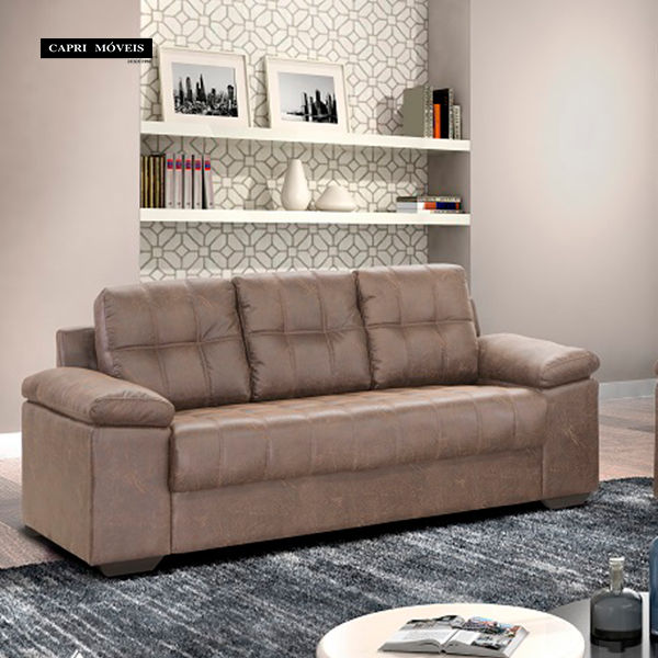 Capri m veis for Sofa 03 lugares