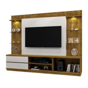 Home Bruges 220cm Tv 55'' Mel/Off White