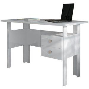 Mesa de Escritório/Estudo 1,15M-100% MDF-Cor Branco BB