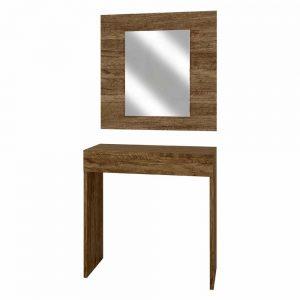 Penteadeira/Camarim Isis com Espelho e LED