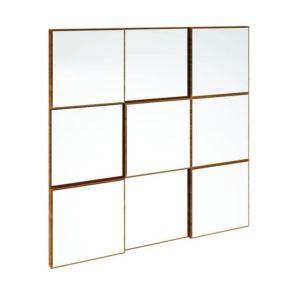Painel Decorativo quadriculado/Espelho-0,75M