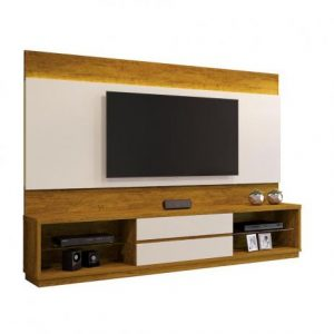 Home Istambul TV 65'' Led Carvalho Ebano/Off White 240cm