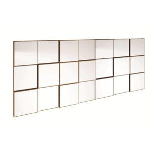 Painel Decorativo quadriculado/Espelho-1,75M