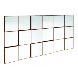 Painel Decorativo quadriculado/Espelho-1,50M