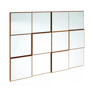 Painel Decorativo quadriculado/Espelho-1,00M