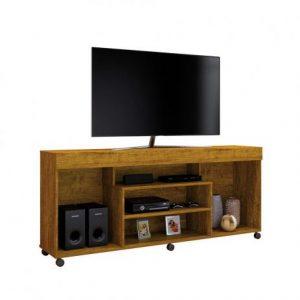 Rack Tv até 60'' Free Cor Mel 136cm