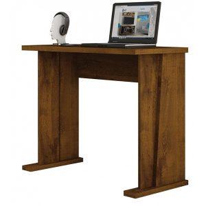 Escrivaninha e Mesa Computador Notebook Rovere Rústico