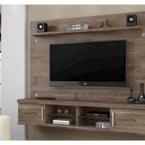 Painel para TV até 60 Polegadas Ipe c/ Off White 1,56m