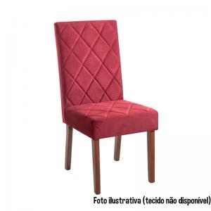Cadeira Acolchoada Madeira Turmalina Red 150 Imbuia Mel