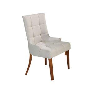 Cadeira Acolchoada Madeira Esmeralda Ref 510 Imbuia Mel