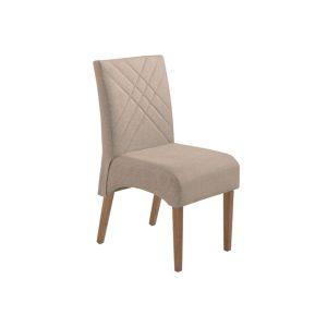 Cadeira Acolchoada Madeira Jade Ref 170 Imbuia Mel