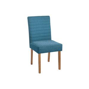 Cadeira Acolchoada Madeira Pérola Ref 070 Imbuia Mel