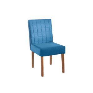 Cadeira Acolchoada Madeira Rubi Ref 120 Imbuia Mel