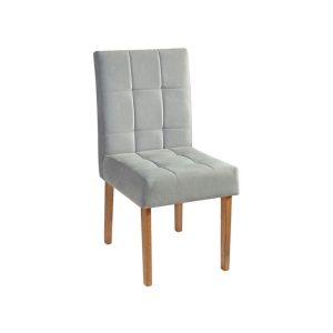 Cadeira Acolchoada Madeira Turquesa Ref 230 Imbuia Mel