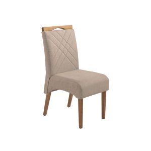 Cadeira Acolchoada Madeira Jade Ref 180 Imbuia Mel