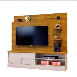 Home Tv 55'' 01 Porta 180cm Mel/Off White