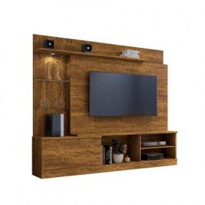 Home Sala tv 65'' c/ LED 200cm Canion