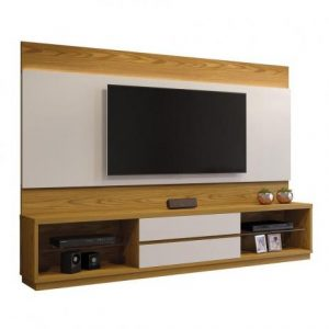 Home Istambul TV 65'' Led Carvalho/Off White 240cm