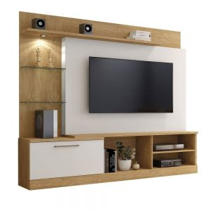 Home p/ tv 65'' c/ LED 200cm Damasco c/ Off White