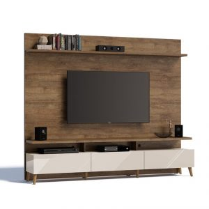 Home Glena Retrô Plus 220cm Tv 60'' Mad/Off White