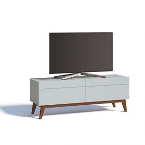 Rack Angélica Tv 55'' 140cm 02 Gavetas Branco