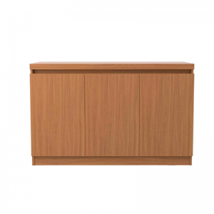 Buffet Belgrado 120cm Natural Fosco 03 Portas
