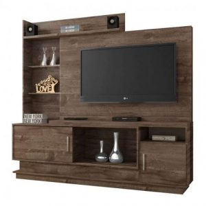 Home Augusta 180cm TV até 55 Polegadas Chocolate