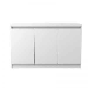 Buffet Belgrado 120cm Branco 03 Portas