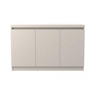Buffet Belgrado 120cm Off White 03 Portas