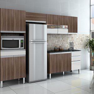 Cozinha Completa Sabrina 280cm Moccacino/Off White