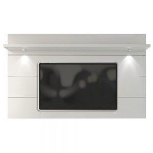 Painel Suspenso Dublin 220cm Tv 60'' Branco LED