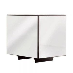 Mesa de Canto Dara Espelhada 53x53cm