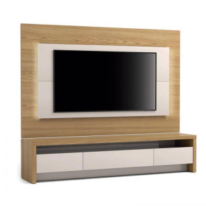 Home Minsk 220cm Tv 60'' Rovere Euro/Off White