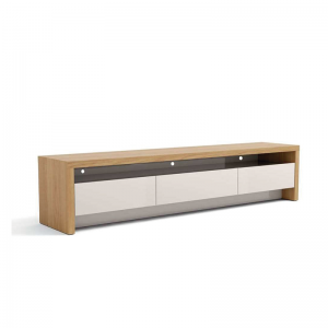 Rack Minsk 180cm Tv 60'' Rovere Euro/Off White