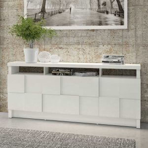 Buffet Sandra Tamburato 3D 180cm Off White