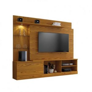 Home p/ tv 65'' c/ LED 200cm Carvalho Flore