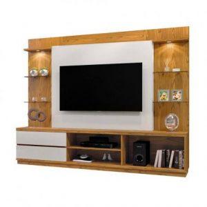 Home Bruges 220cm Tv 55'' Carvalho/Off White